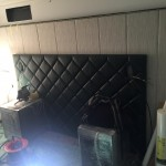 Laivo miegamasis kambarys