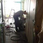 Modular cabins installation 03