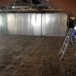 Modular cabins installation 07